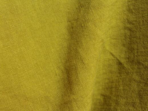 Tissu lin au mètre Tilleul Maison Normande Home Decor