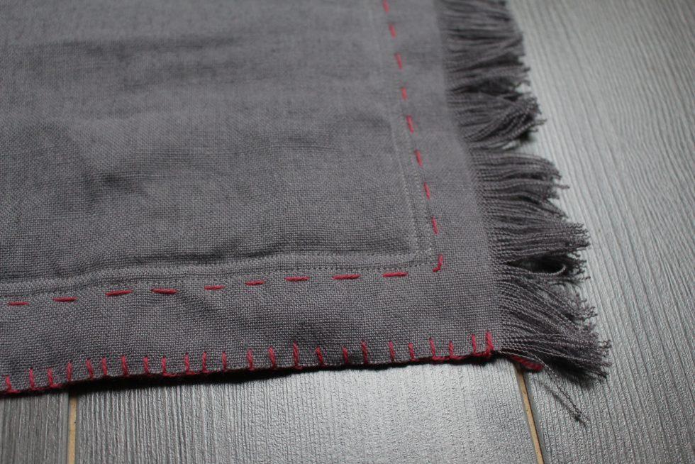 finition tapis en lin pour chats Maison Normande Home Decor