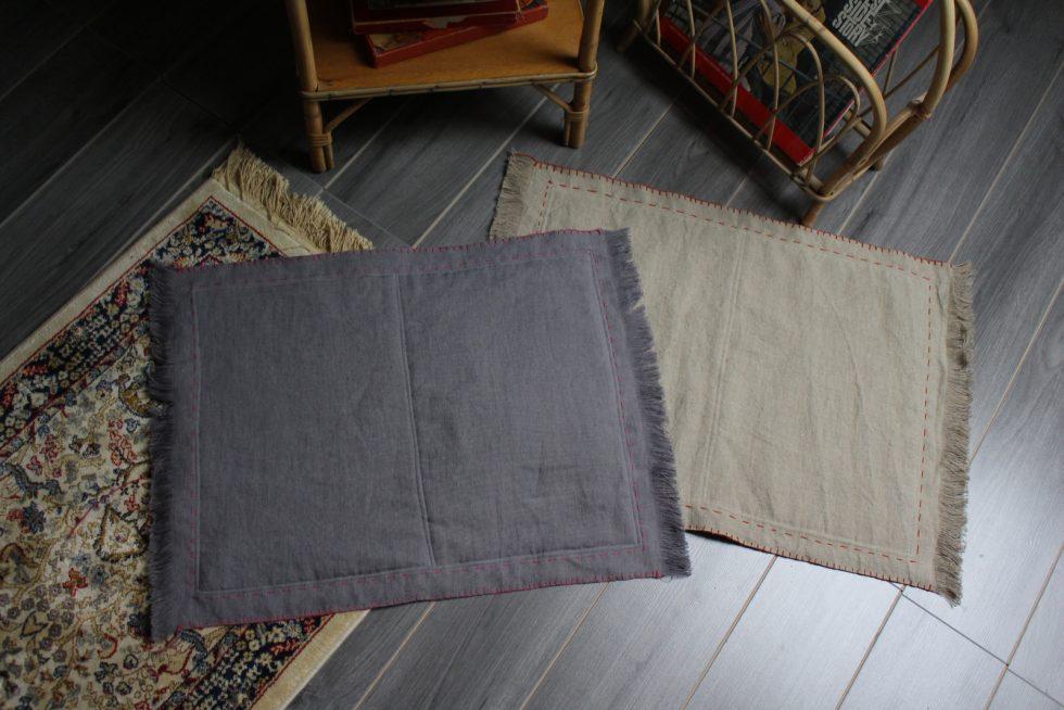 tapis pour chats en lin Maison Normande Home Decor