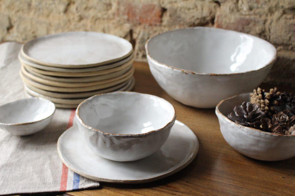 glazed stoneware crockery @ maisonnormande.boutique