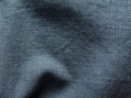 Tissu lin au mètre bleu Goblin Maison Normande Home Decor
