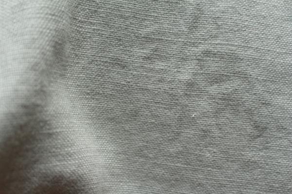 tissu lin au mètre gris clair Maison Normande Home Decor
