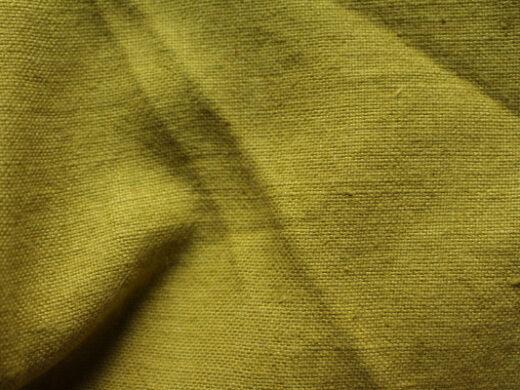 tissu lin au mètre vert tilleul Maison Normande Home Decor
