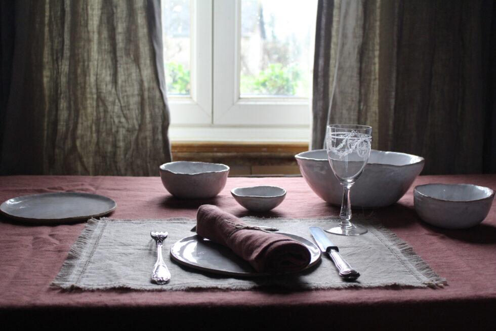nappe en lin maison normande home decor
