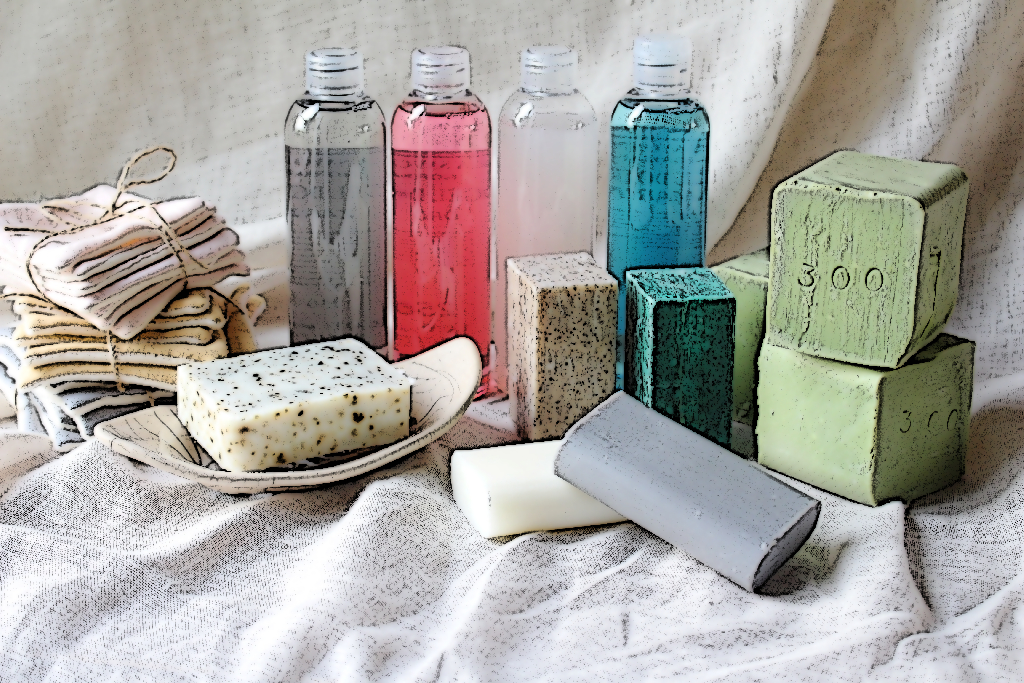 savons gels douches shampoings lingettes demaquillantes maison normande home decor