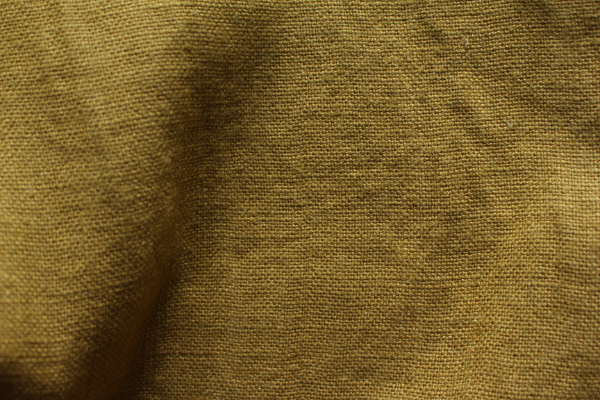 Tissu lin au mètre Noix Maison Normande Home Decor