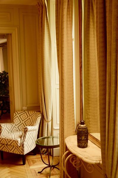 doubles-rideaux MN Home Decor pour l'hotel chateau La Cheneviere
