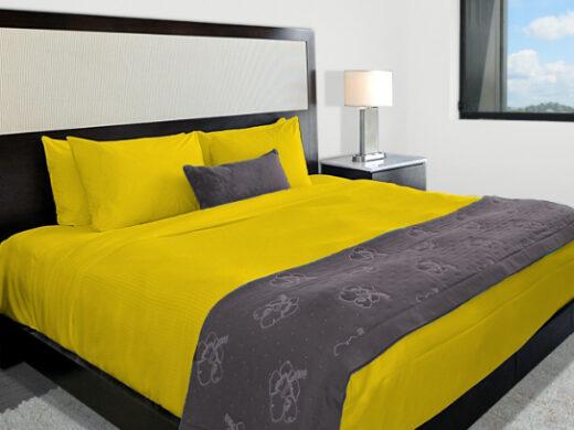 parure de lit king size lin mangue MN Home Decor®