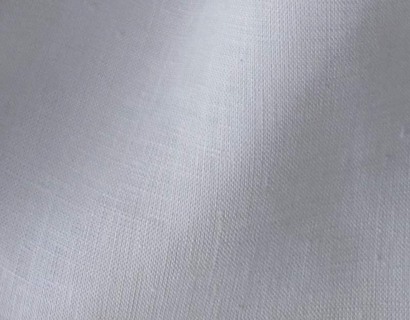 lin blanc au mètre prêt à teindre Maison Normande Home Decor